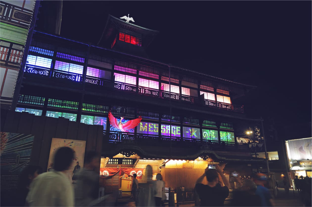 Now is the time to go to Dōgo Onsen Honkan while it's under reconstruction and repair!Is the next chance 100 years from now?!