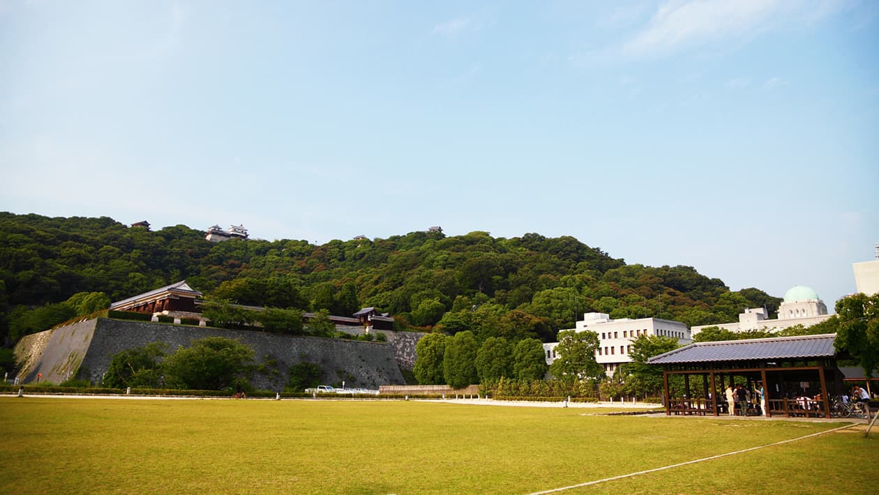 Shiroyama-kōen Park