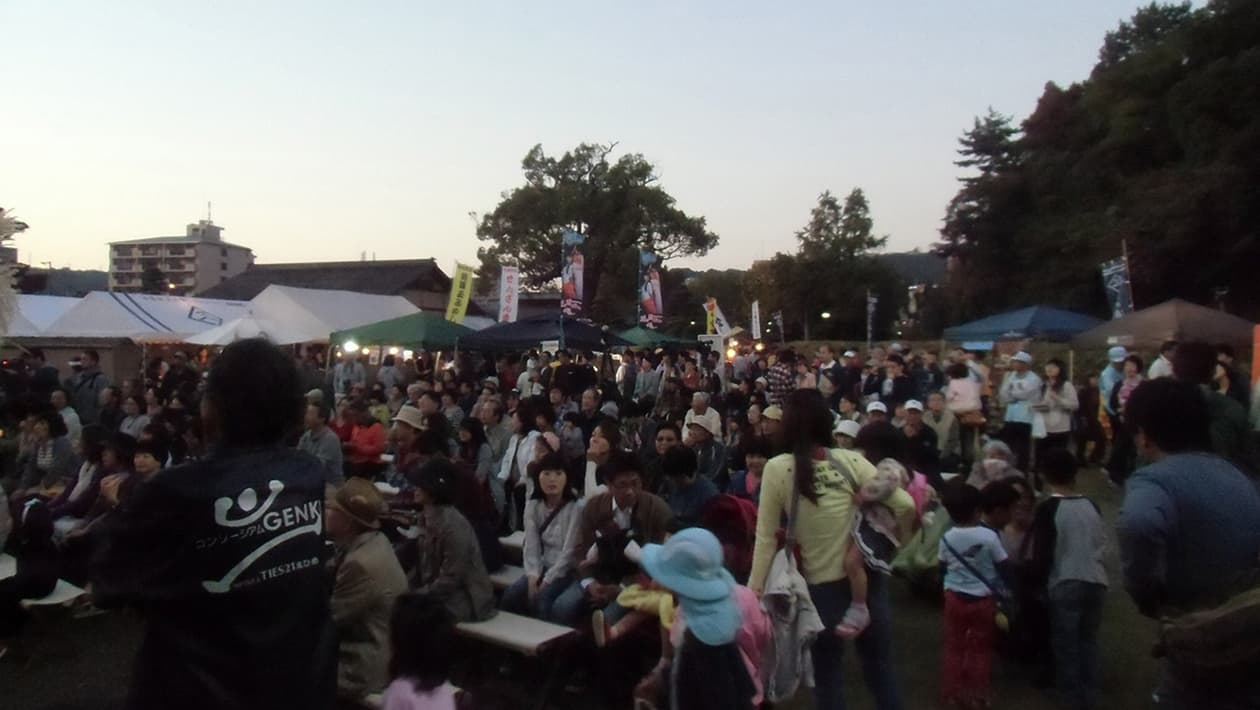 Yuzuki Castle Kangetsusai (Moon Viewing Festival)