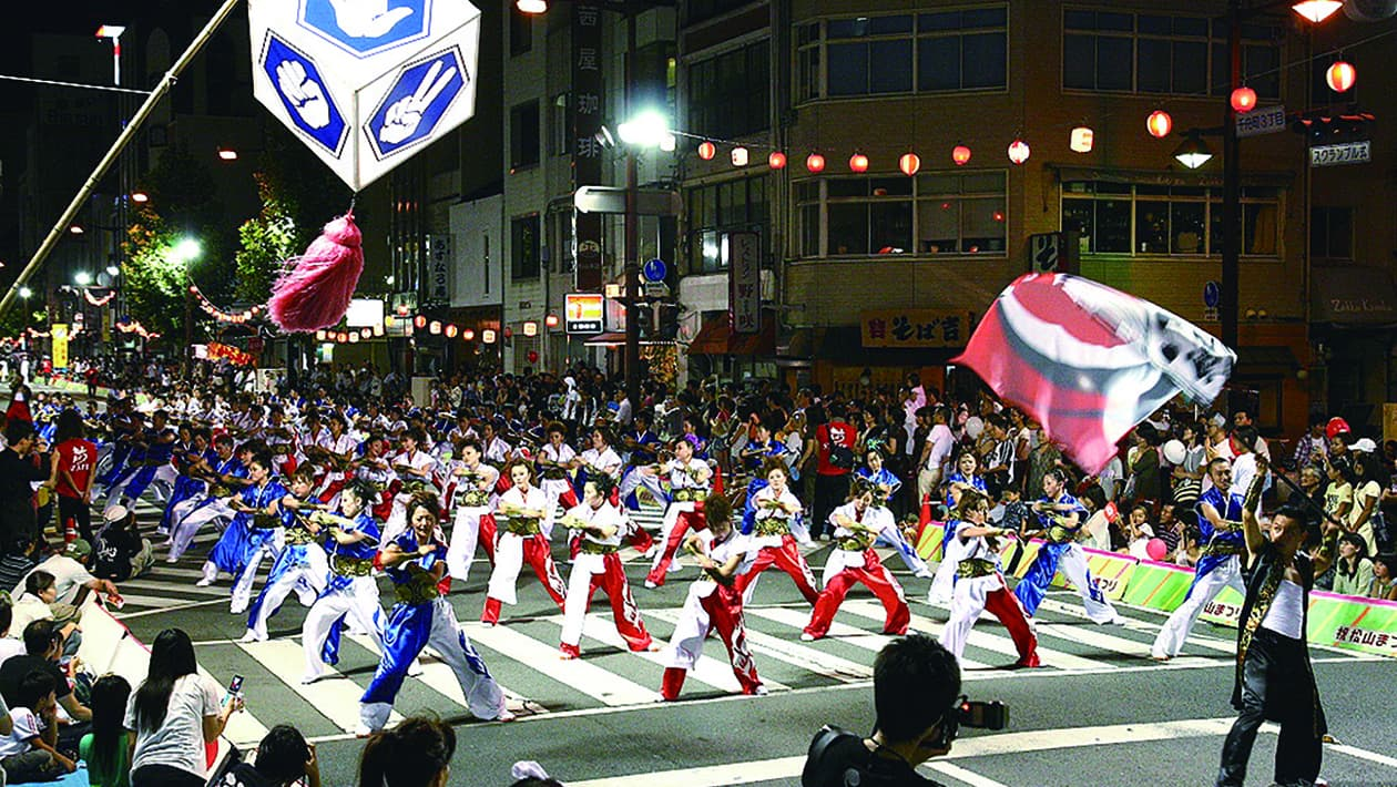 Matsuyama Festival (Baseball-themed dances)
