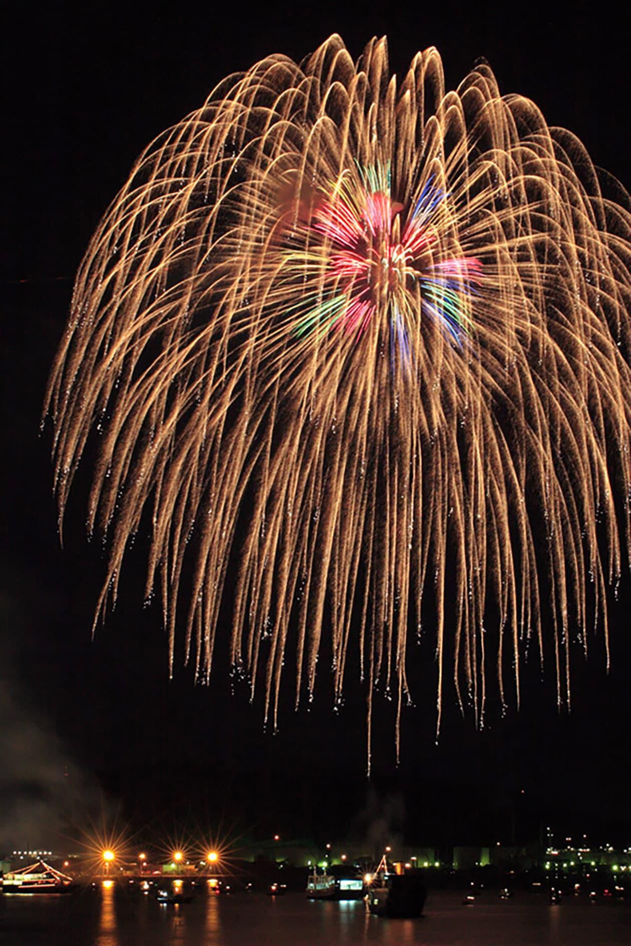 Mitsuhama Firework Festival