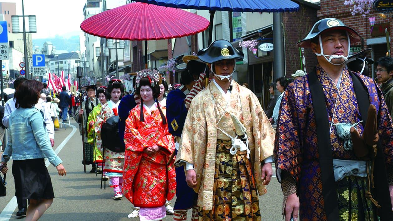 Matsuyama Spring Festival (Oshiro Festival)