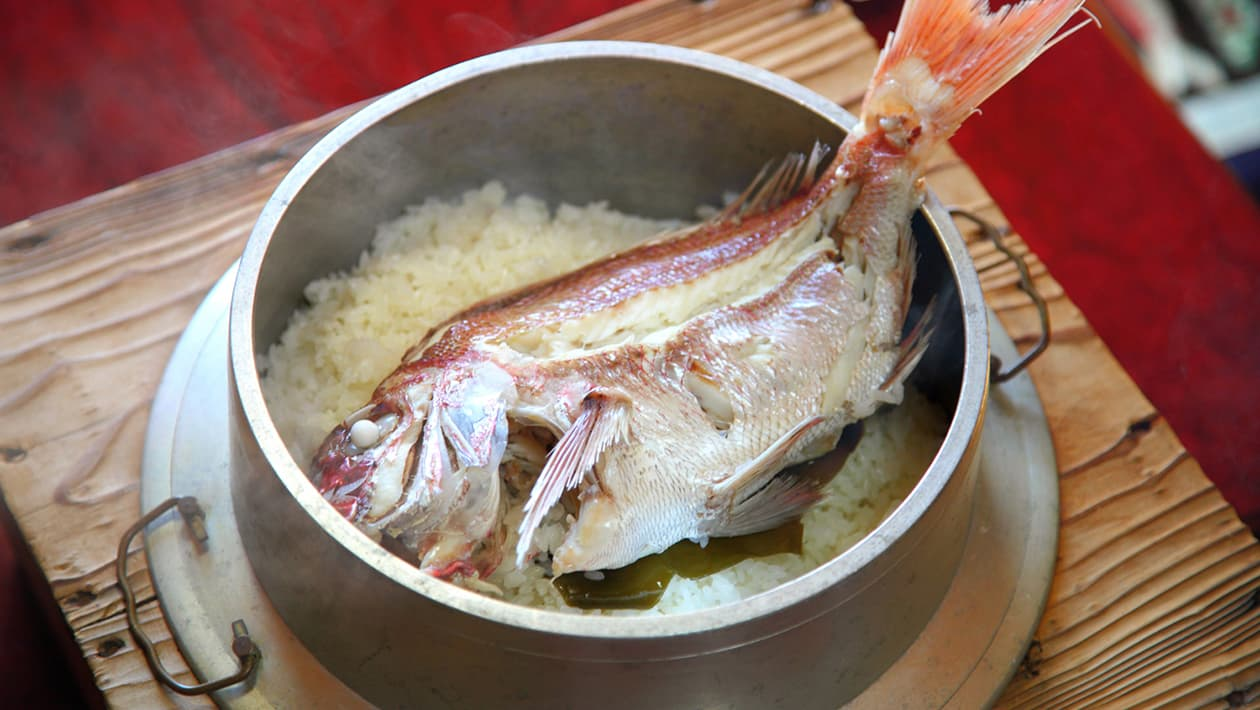 Sea Bream Rice