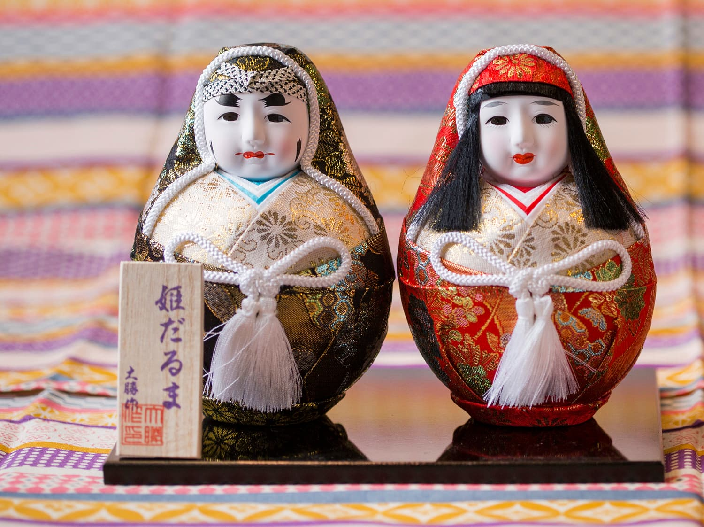 Hime Daruma Dolls
