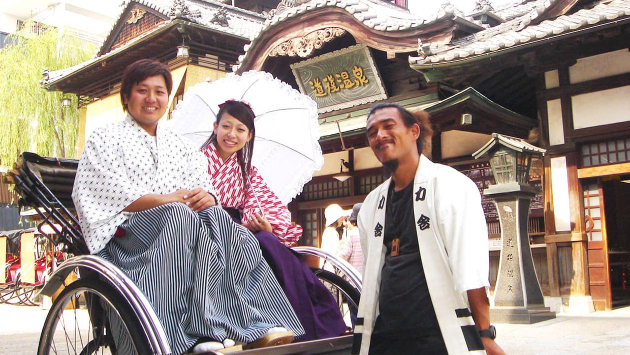Dōgo rickshaws