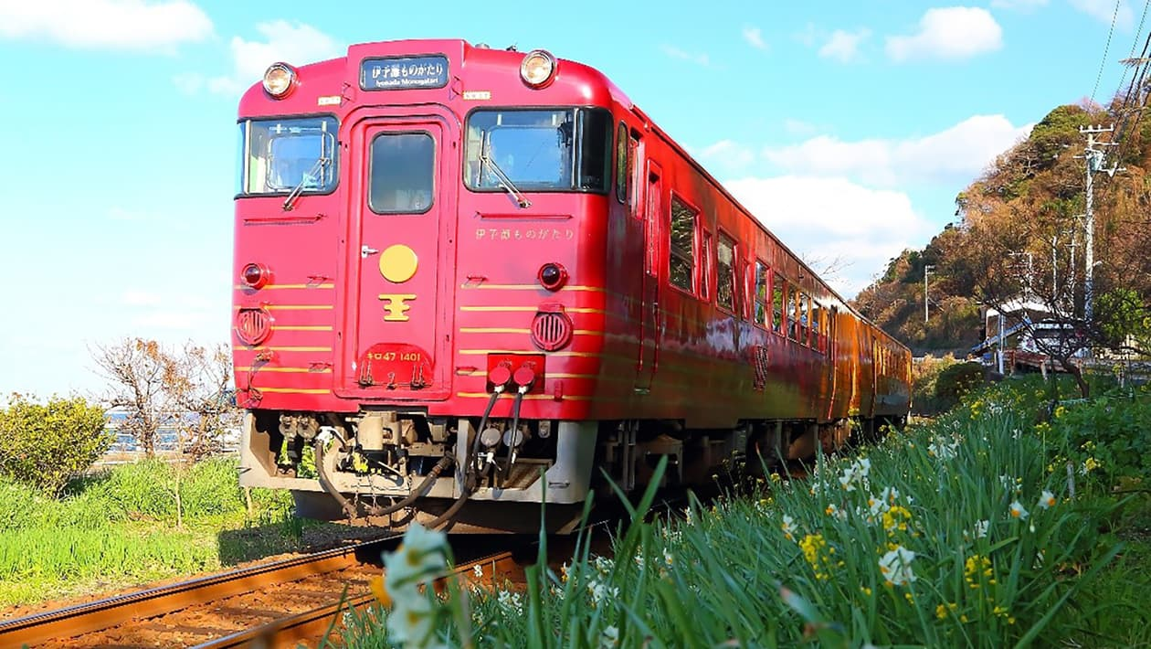 Iyonada Monogatori tourist train