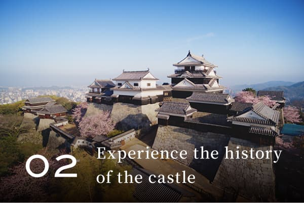 Experience the history of the castle