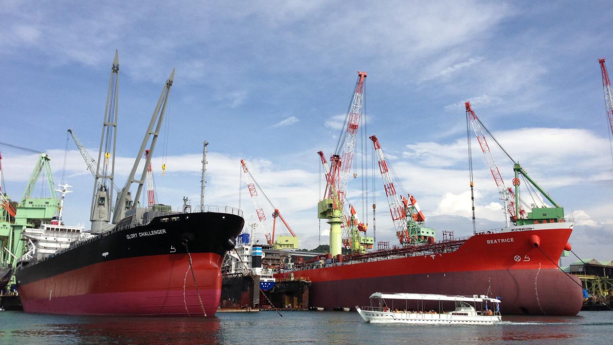 Rapid Tide Observation Boat at Kurushima Strait(Kurushima Kyūryū kanchōsen)